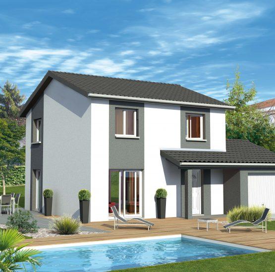 Maison neuve + terrain Estrablin