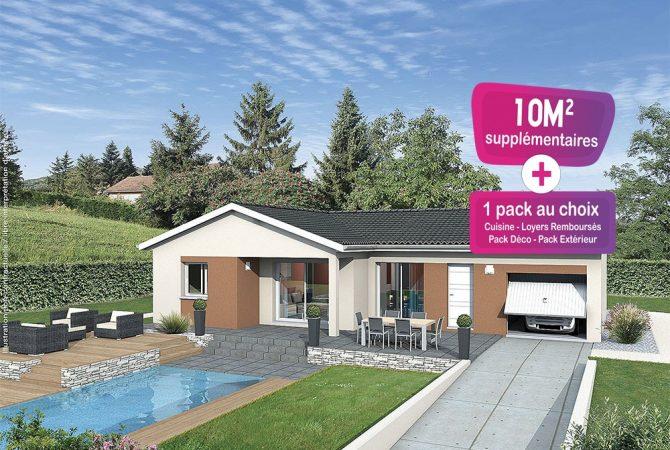 Maison neuve de 83 m² Pont-de-Vaux