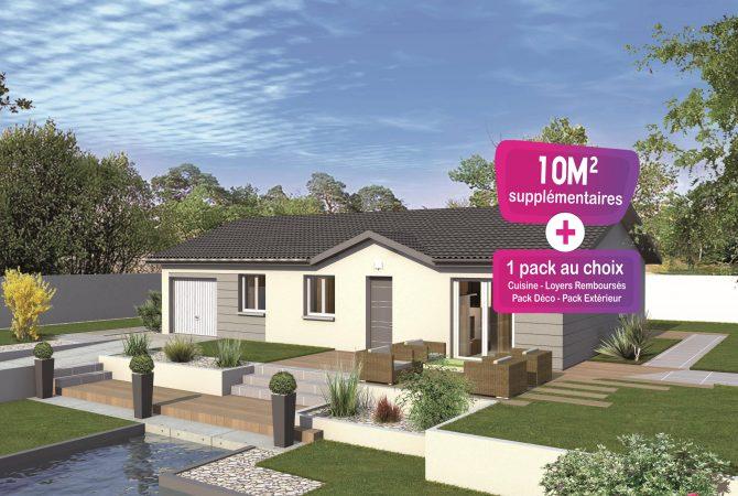 Maison neuve de 91 m² Rignieux-le-Franc