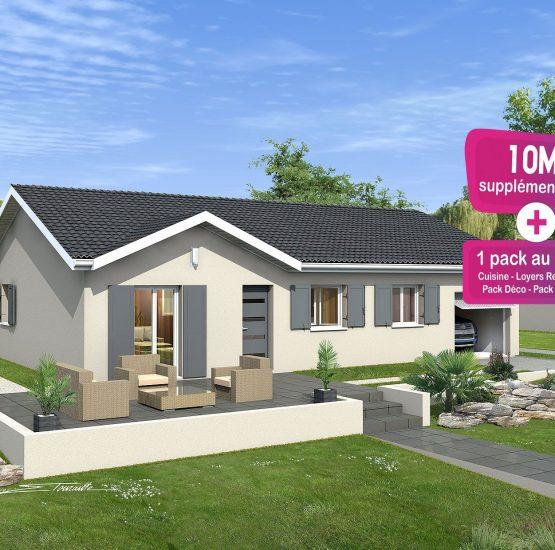 Maison neuve + terrain Rignieux-le-Franc