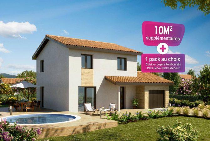 Maison neuve de 103 m² Rignieux-le-Franc