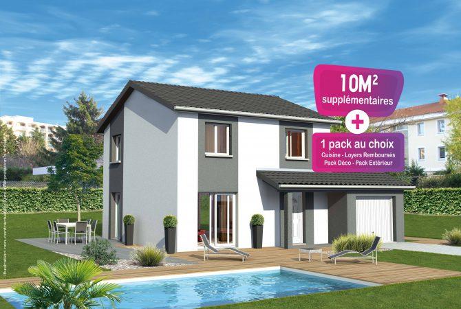 Maison neuve de 104 m² Rignieux-le-Franc