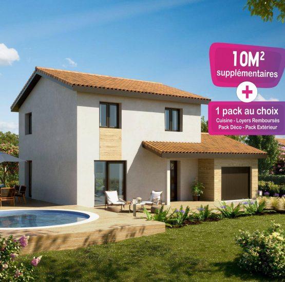 Maison neuve + terrain La Bâtie-Montgascon