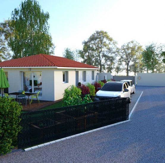 Maison neuve + terrain Lucenay