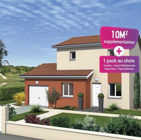 Maison neuve + terrain Château-Gaillard