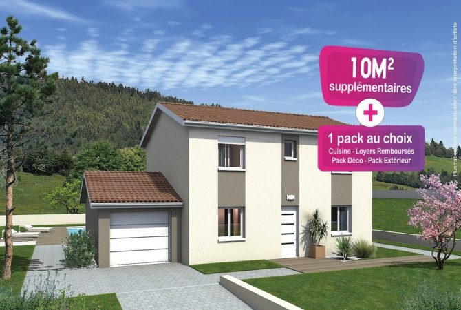 Maison neuve de 111 m² Tournus