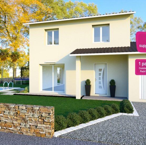Maison neuve + terrain Ars-sur-Formans