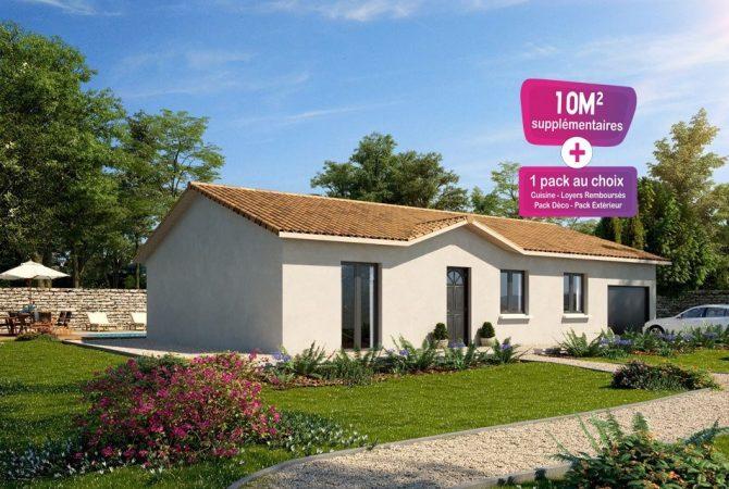 Maison neuve de 91 m² Frans