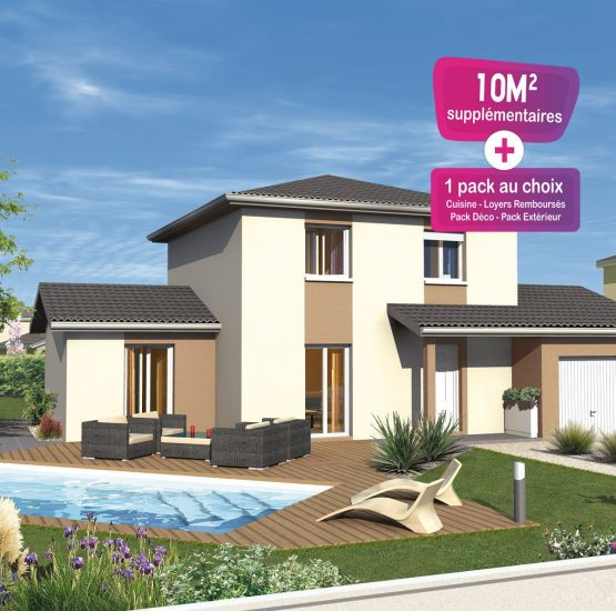 Maison neuve + terrain Badinières