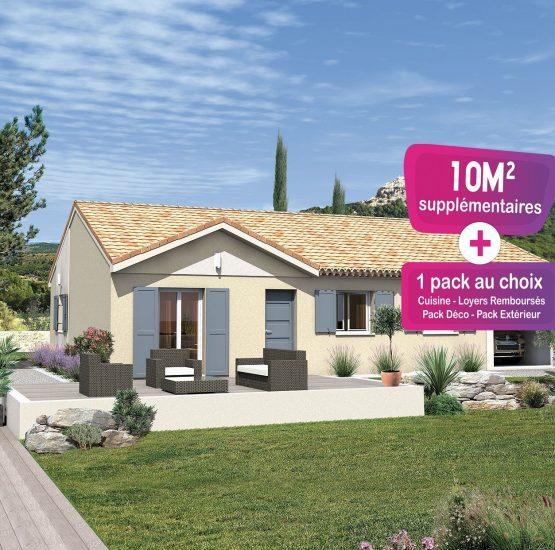 Maison neuve + terrain Villeneuve-lès-Avignon