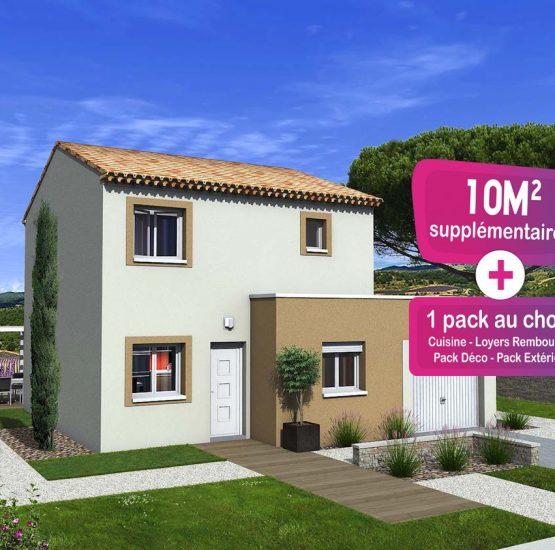 Maison neuve + terrain Laudun-l'Ardoise