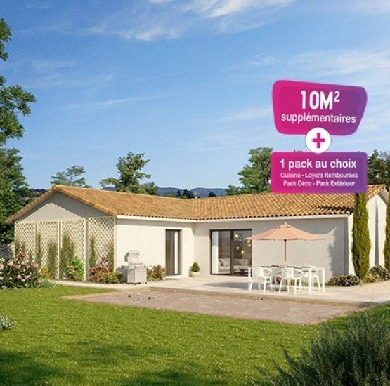 Maison neuve + terrain Romanèche-Thorins