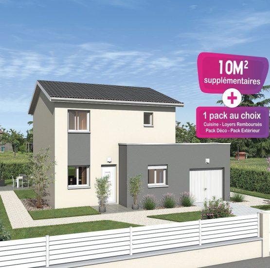 Maison neuve + terrain Ambérieux-en-Dombes