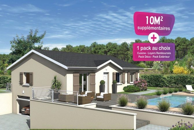 Maison neuve de 88 m² Beaujeu