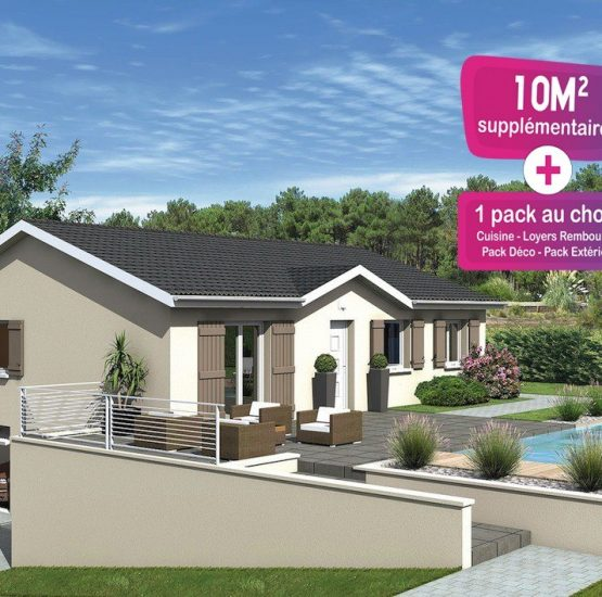 Maison neuve + terrain Beaujeu