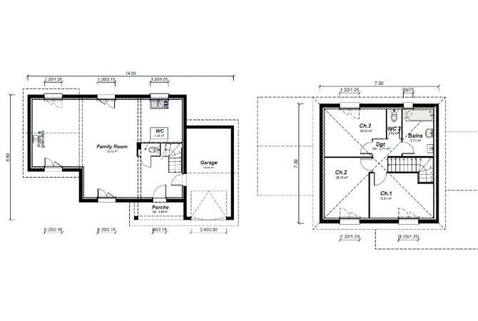 Maison neuve de 97 m² Jujurieux