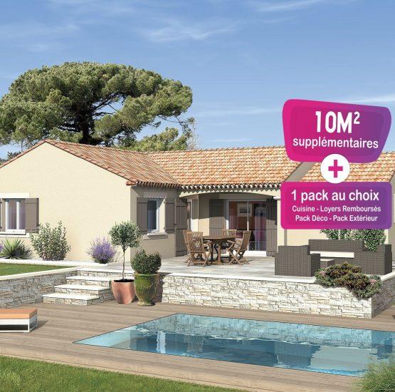 Maison neuve + terrain Châteauneuf-de-Gadagne