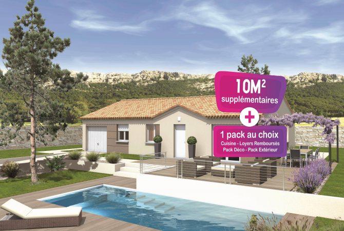 Maison neuve de 88 m² Villeneuve-lès-Avignon
