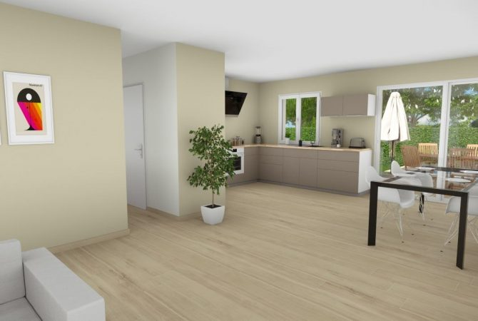 Maison neuve de 93 m² Tavel