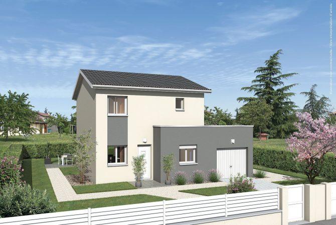 Maison neuve de 91 m² Saint-André-de-Corcy