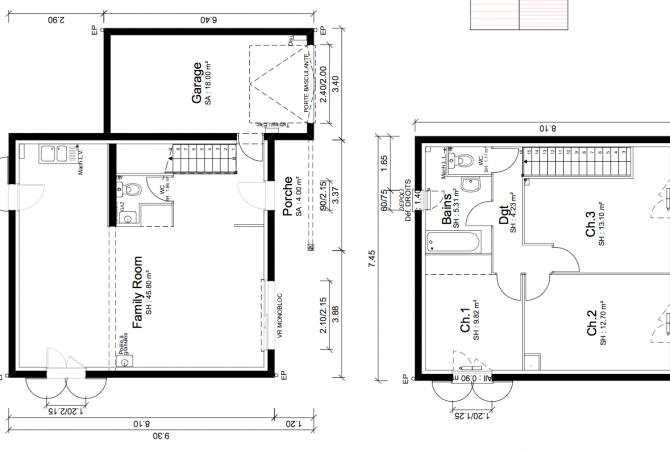 Maison neuve de 94 m² Villars-les-Dombes