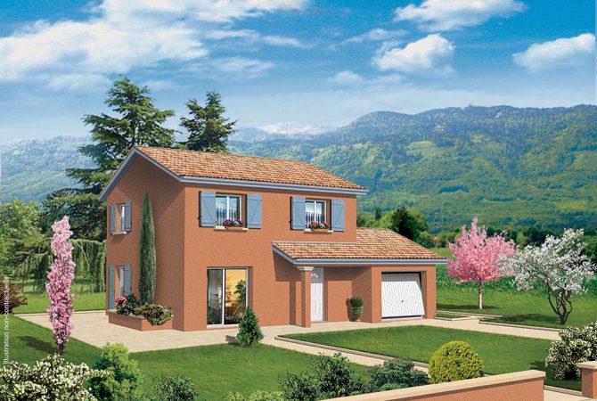 Maison neuve de 79 m² Cormoranche-sur-Saône