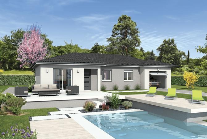 Maison neuve de 95 m² Vougy