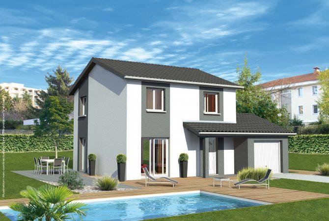 Maison neuve de 94 m² Lancié