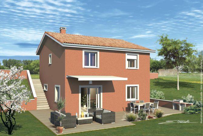 Maison neuve de 92 m² Mornant