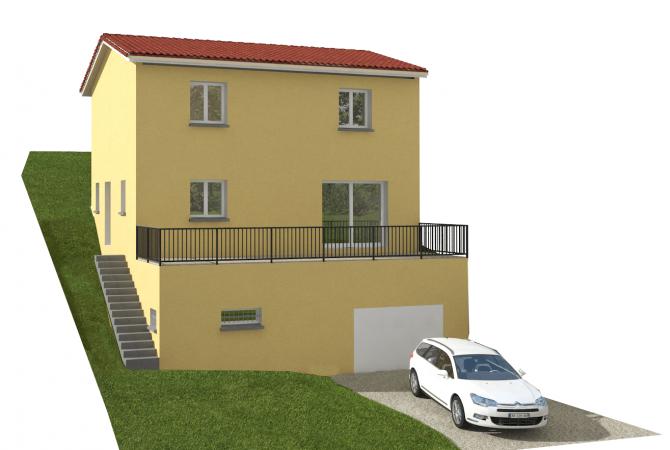 Maison neuve de 94 m² L'Arbresle