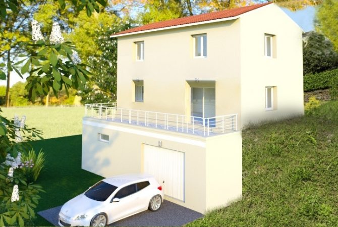 Maison neuve de 94 m² Brussieu