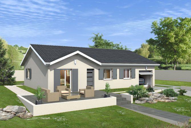 Maison neuve de 80 m² Bourgoin-Jallieu