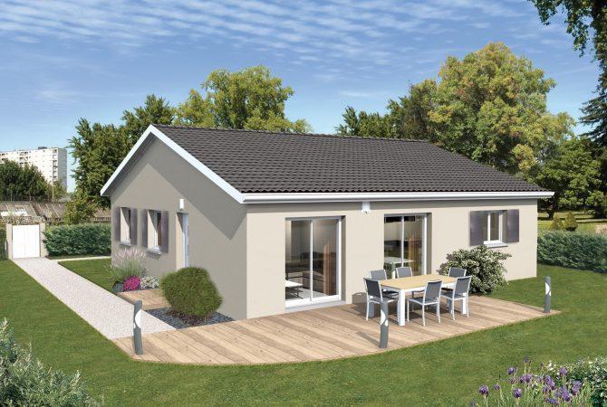 Maison neuve de 84 m² Ambérieux-en-Dombes